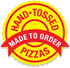 Hand-tossed pizzas. Made to order
