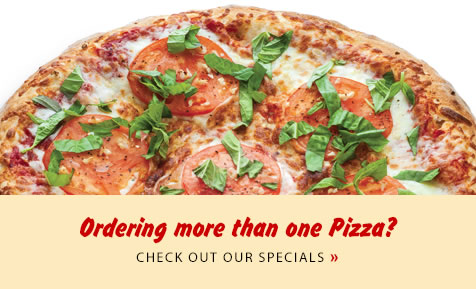 Ordering more than one pizza? Click to check out our specials